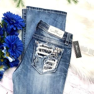 👖NWT🎄I•MISS ME•I Easy Boot Stretch Jean👖